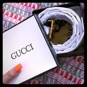 Brand new Gucci belt -NEVER WORN-
